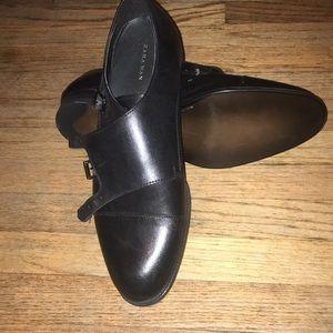 Zara Men's Double Monk Strap Shoes.